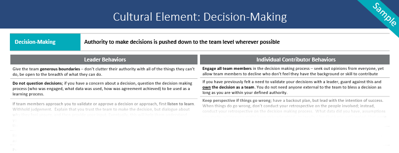 Behaviors-Decision-Making
