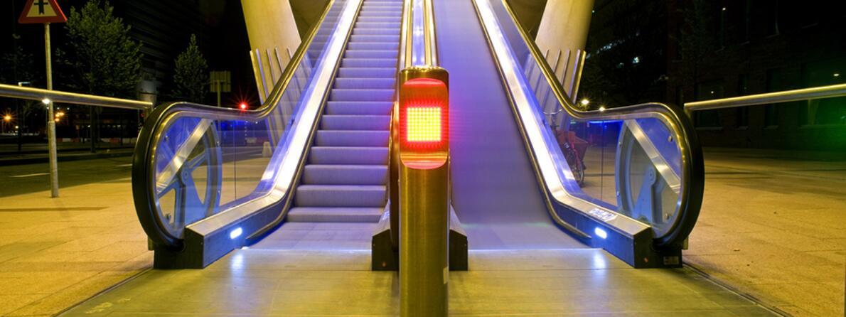 bigstock-Two-escalators-one-moving-th-26146274
