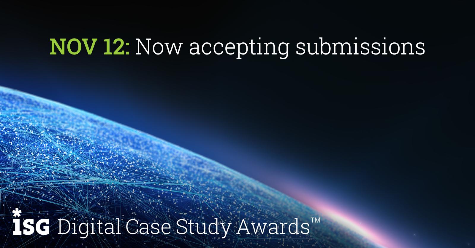 ISG DIgital Case Study Awards