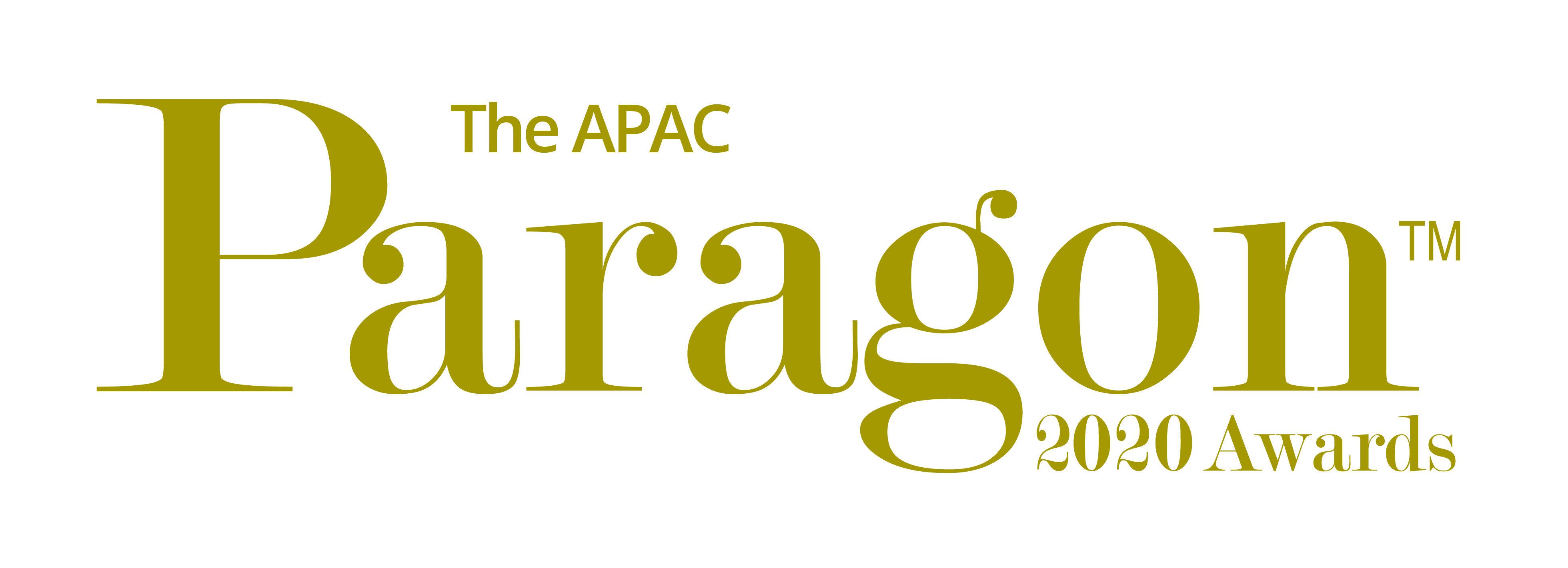Paragon Logo ANZ APAC 2020 gold